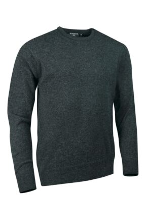 Mens Great & British Knitwear Made In Scotland 100% Cashmere Crew Neck Summer Isles Small