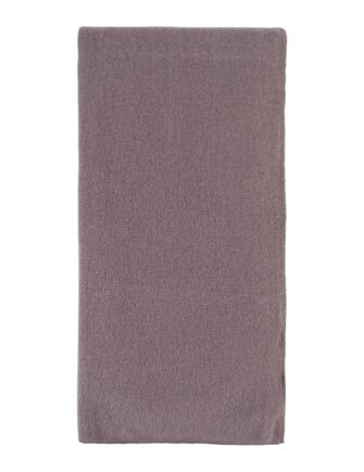 Ladies Great and British Knitwear 100% Cashmere Plain Fine Knit Scarf. Made In Scotland Clay One Size