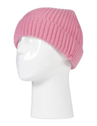Ladies and Mens Great and British Knitwear 100% Cashmere Plain Beanie Hat. Made In Scotland Coulis One Size