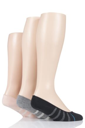 Mens and Ladies 3 Pair Stance Liner St 3 Pack Cotton Socks