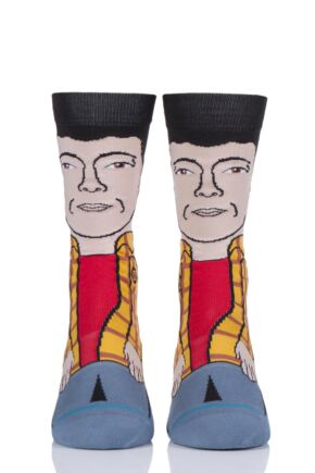 Mens and Ladies 1 Pair Stance Happy Gilmore Happy Happy Cotton Socks