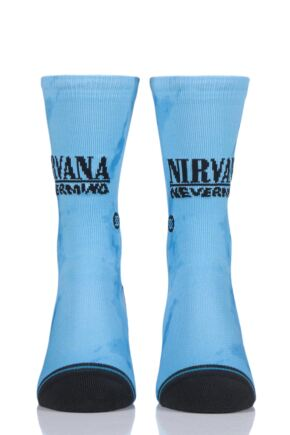 Mens and Ladies 1 Pair Stance Nirvana Nevermind Socks