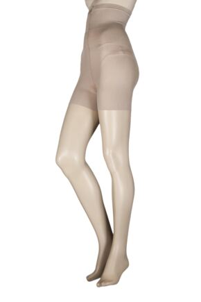 Ladies 1 Pair Aristoc 10 Denier Hourglass Toner Tights