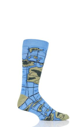 Mens and Ladies 1 Pair Shared Earth Globetrotter Fair Trade Bamboo Socks