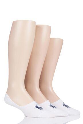 Mens 3 Pair Ralph Lauren Light Weight Cotton Trainer Liner Socks