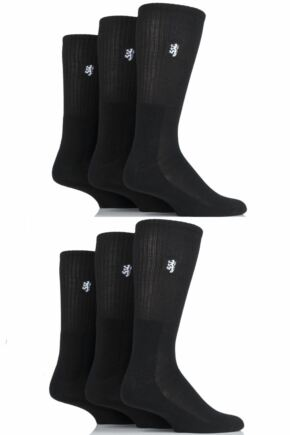 Mens 6 Pair Pringle Bamboo Cushioned Sports Socks Exclusive To SOCKSHOP