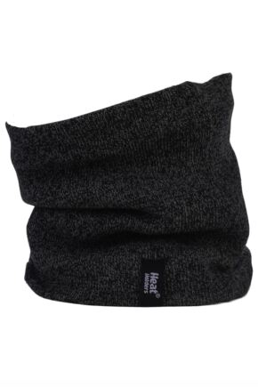Mens 1 Pack Heat Holders 2.6 Tog Heatweaver Yarn Neck Warmer