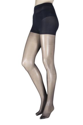 Ladies 1 Pair Pretty Legs 15 Denier Soft Shine Body Shaping Tights