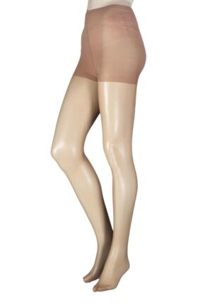 Ladies 1 Pair Pretty Legs 15 Denier Ladder Resist Fusion Tights