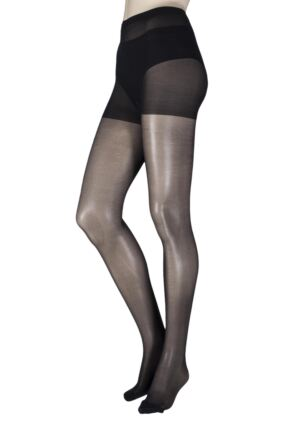Ladies 1 Pair Pretty Legs 15 Denier Revitaliser Soft Shine Compression Tights