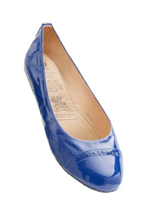 Ladies 1 Pair Rollasole Blue Lagoon Rollable After Party Shoes to Keep in Your Handbag