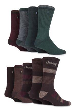 Mens 9 Pair Jeep Fresh Sock Drawer Collection Socks