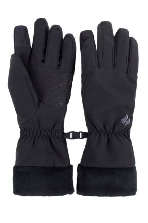 Ladies 1 Pair SOCKSHOP Heat Holders Kenai Soft Shell Gloves