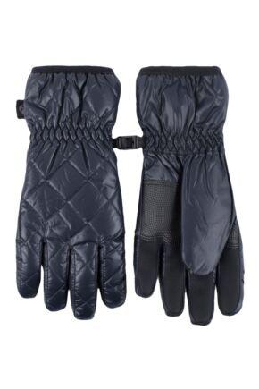 Ladies 1 Pair SOCKSHOP Heat Holders Bryce Quilted Gloves