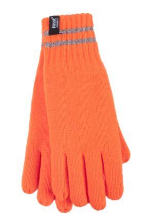 Heat Holders 1 Pack Workforce Gloves Bright Orange Small / Medium