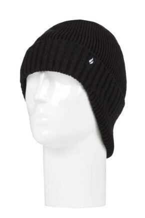 Mens 1 Pack SOCKSHOP Heat Holders Expedition Drop Neck Hat