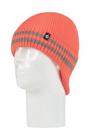 Mens 1 Pack SOCKSHOP Heat Holders Workforce Drop Neck Hat