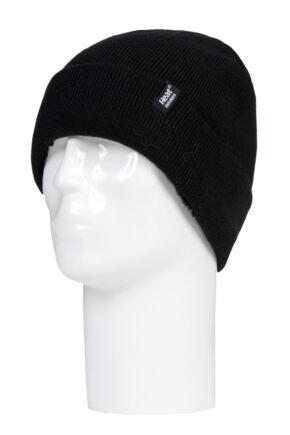 Mens 1 Pack SOCKSHOP Heat Holders Marvel Logo Hat