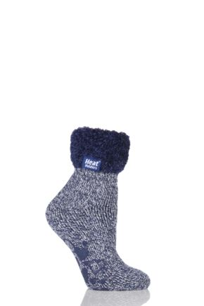 Ladies 1 Pair SockShop Heat Holders 2.3 TOG Thermal Lounge Socks