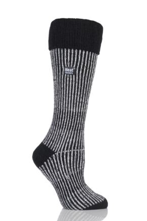 Ladies 1 Pair SOCKSHOP Heat Holders 2.3 TOG Thermal Boot Socks