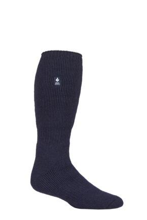 Mens 1 Pair SOCKSHOP Long Heat Holders 2.3 TOG Thermal Socks