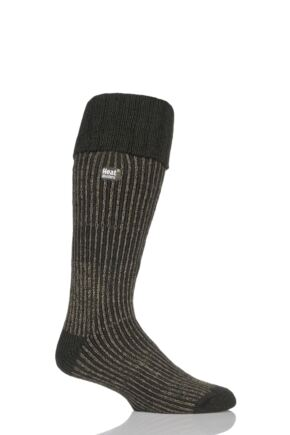 Mens 1 Pair SOCKSHOP Heat Holders 2.3 TOG Thermal Boot Socks