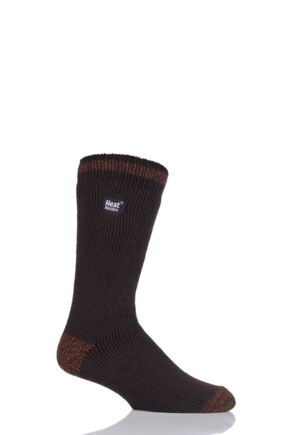 Mens 1 Pair SockShop Heat Holders Twist Heel and Toe Socks
