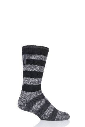 Mens 1 Pair Heat Holders Oakley Lounge Socks