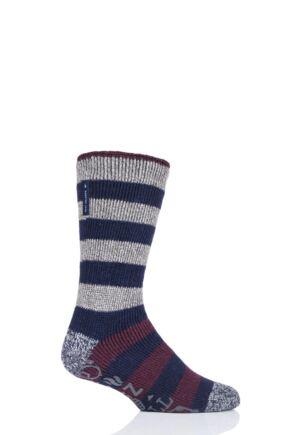 Mens 1 Pair Heat Holders Oakley Lounge Socks