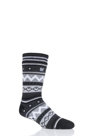 Mens 1 Pair Heat Holders Soul Warming Socks