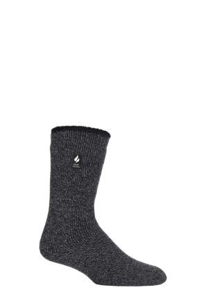 Mens 1 Pair SOCKSHOP Heat Holders 2.9 TOG Merino Wool Socks