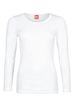 Ladies 1 Pack SOCKSHOP Heat Holders 0.45 TOG Long Sleeve Vest