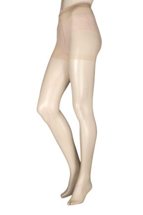 7ae2f28086b Ladies 1 Pair Charnos 10 Denier Elegance Sheer Tights