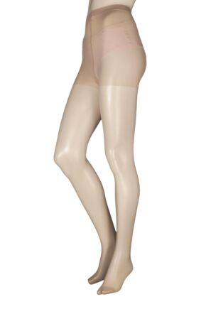 Ladies 3 Pair 24/7 Charnos 15 Denier + Lycra Tight