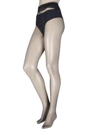 Ladies 1 Pair Trasparenze Capri 8 Denier Ultra Sheer Tights