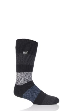 Mens 1 Pair Heat Holders Fashion Twist 2.3 TOG Thermal Socks