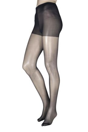 Ladies 1 Pair Charnos 10 Denier Run Resist Tights