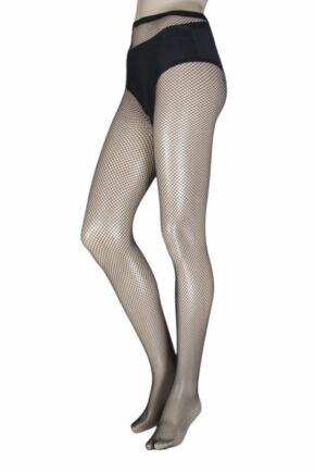 Ladies 1 Pair Charnos Fishnet Tights