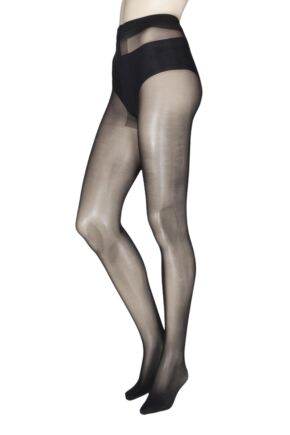 Ladies 1 Pair Charnos Re, Cycled 15 Denier Sheer Tights