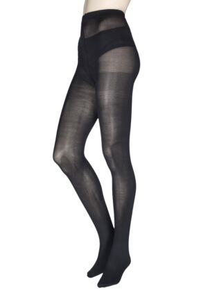 Ladies 1 Pair Charnos Re, Cycled 70 Denier Opaque Tights