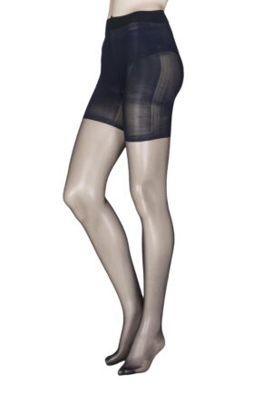 Ladies 1 Pair Charnos Cellulite Reducing Tummy Flattening Tights
