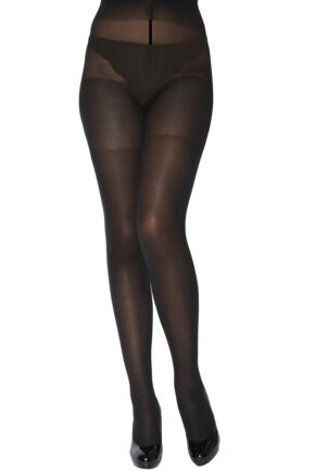 Ladies 1 Pair Charnos XeLence 50 Denier Opaque Tights
