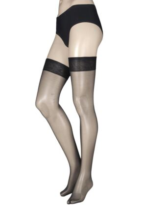 Ladies 1 Pair Charnos 10 Denier Elegance Sheer Stocking