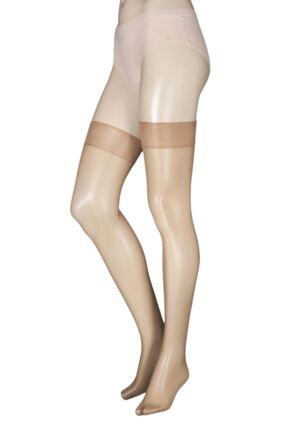 Ladies 1 Pair Charnos 10 Denier Elegance Sheer Stocking
