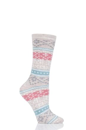 Ladies 1 Pair Charnos Bamboo Animal and Patterned Socks
