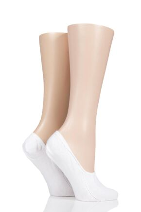 Ladies 2 Pair Charnos Shoe Liner for Trainers White Size 6-8