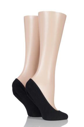 Ladies 2 Pair Charnos Cotton Rich Foot Socks