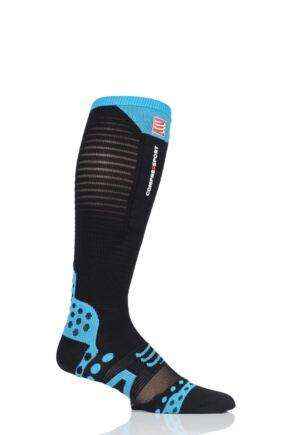Compressport 1 Pair Full Length Ultralight Racing Compression Socks