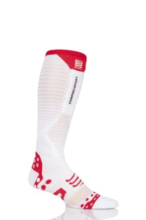 Compressport 1 Pair Full Length Ultralight Racing Compression Socks