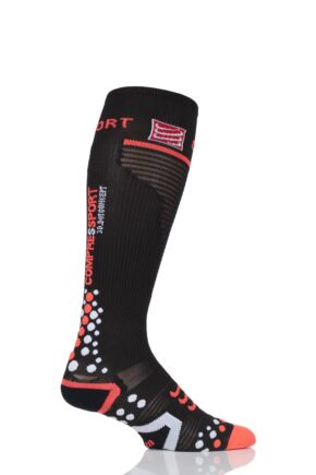 Compressport 1 Pair Full Length V2.1 Compression Socks